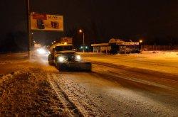 За прошедшую неделю в Луганске для посыпки дорог использовали почти 900 тонн песчано-соляной смеси