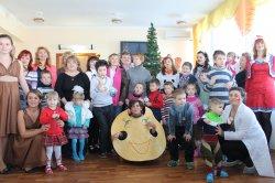 Луганские студенты устроили праздник для детей-инвалидов
