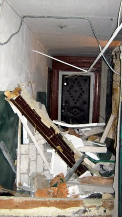 В Молодогвардейске на хозяев квартиры, в которой произошел взрыв, заведено уголовное дело