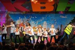 Луганские школьники выбирали будущую профессию, играя в КВН