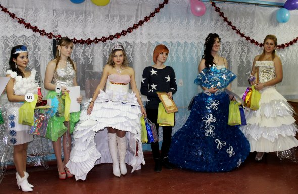 Конкурс платьев
