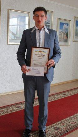 Далевец Сергей Скляр стал лучшим спортсменом Луганска