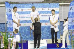 Луганчане завоевали на  кубке Украины по плаванию  9 медалей