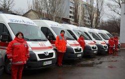 Луганский областной центр экстренной медицинской помощи и медицины катастроф получил 12 новых автомобилей