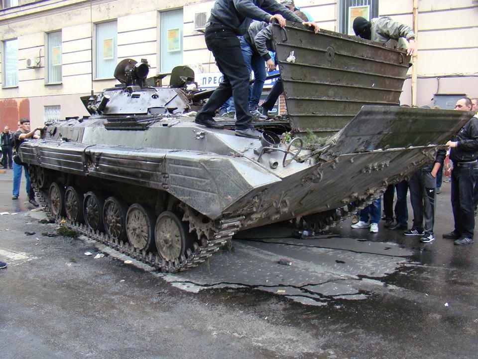 9 мая 2014. В Мариуполе – война. В Донецке – Джигурда. В Севастополе - Путин