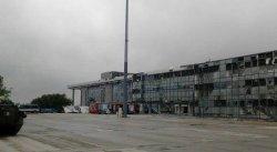 Украинские военные отбили несколько атак на аэропорт Донецка