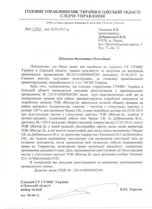Одесское дело о похищенном наследстве