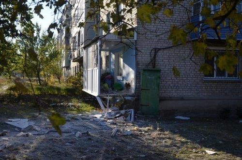 Разрушения в Сватово (фоторепортаж)