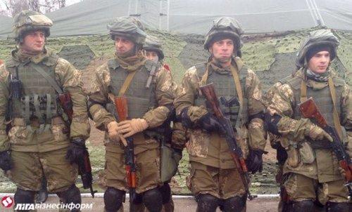 Бойцы Нацгвардии первыми провели учения по стандартам НАТО (фото)