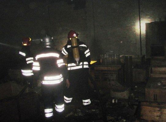 ВЧеркассах назаводе химреактивов произошел масштабный пожар