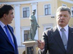 Порошенко подписал Указ об увольнении М.Саакашвили с должности председателя Одесской ОГА