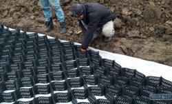 Под Одессой строят дорогу по европейской технологии