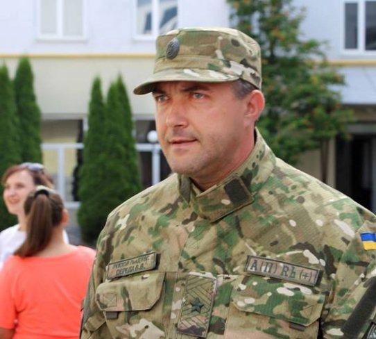 Полицию Львовской обл. возглавил участник АТО Валерий Середа