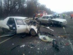 На трассе Киев-Одесса произошло ДТП при участии военного. Есть жертвы