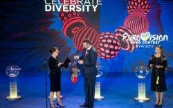 Кличко получил символические ключи от Евровидения