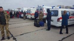В Одессу доставили 24 раненых военных