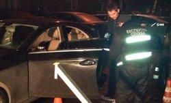 В Киеве застрелили водителя в автомобиле с детьми