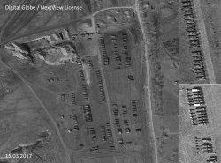 Рядом с Алчевском обнаружили десятки российских танков и артиллерийских установок