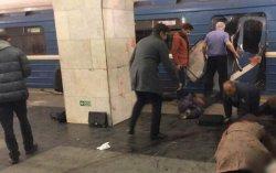 Взрыв в метро в Санкт-Петербурге. Много погибших