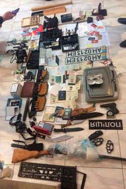 В Одессе задержаны люди с арсеналом огнестрельного оружия