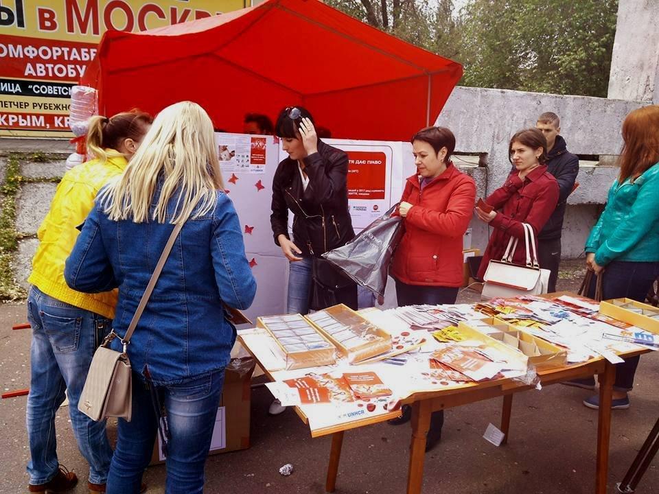 Не забыты в Рубежном почтили память умерших от ВИЧ  СПИД