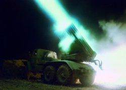 Российские террористы открыли огонь по украинским городам из ГРАДов и артиллерии калибром 152 мм