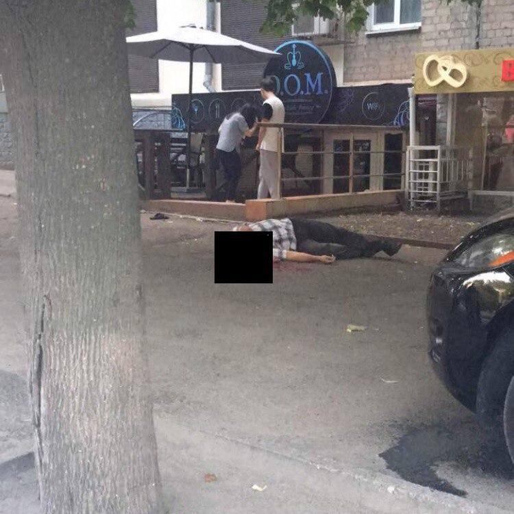 В центре Днепра в перестрелке были убиты два человека