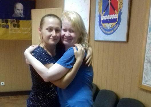 НаЛуганщине боевики осквернили украинского блогера, после этого отпустили ее