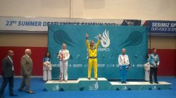 Карина Янчук завоевала еще одно золото на Дефлимпийских играх
