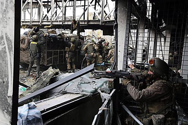 «Киборги»: первые кадры фильма озащитниках Донецкого аэропорта