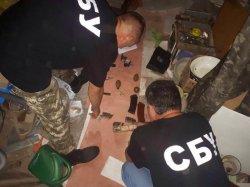 СБУ обнаружила в Одесской области тайник с боеприпасами из зоны АТО