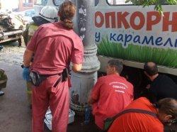 В Одессе женщина упала под трамвай