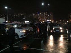 В Киеве полиция задержала автомобиль со взрывчаткой
