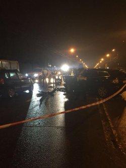 В Киеве в ДТП с участием сотрудника МВД погиб человек