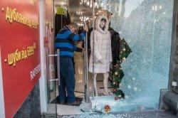 На Крещатике из магазина украли 40 шуб