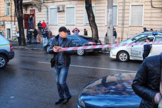 Стрельба  вОдессе: один человек убит, есть раненые