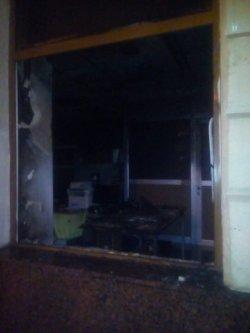 Во Львове подожгли отделение «Сбербанка»