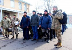 Одесская область отправила 100 резервистов на учения - для боевого слаживания