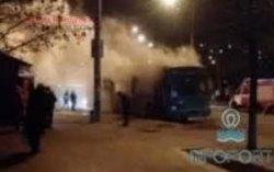 В Одессе взорвался троллейбус
