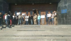 В Одессе жители кооператива Совиньон митинговали против монополиста