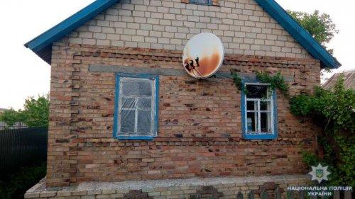 Из-за обстрела в поселке Курдюмовка повреждены дома