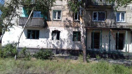 Боевики обстреляли Новотошковское (фото)