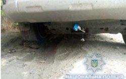 В Одессе под машиной нашли шумовую гранату