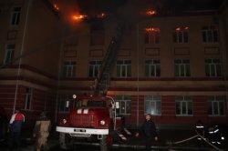 На Одесчине от удара молнии загорелась школа