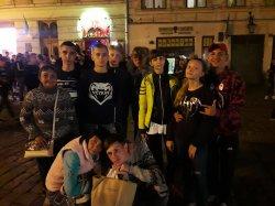 Школьники из Счастья приняли участие в «Іграх Нескорених» во Львовской области