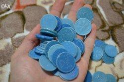 В Киеве мужчина принес на обмен 2300 жетонов метро