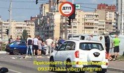 В столице машина влетела в толпу людей