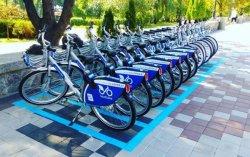 В Киеве запустили систему велопроката Bike sharing