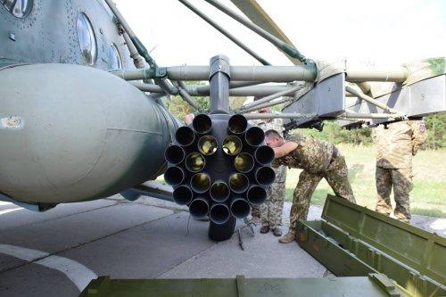 В Украине испытали новые неуправляемые ракеты РС-80