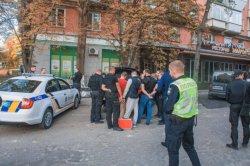 В Киеве перекрывали улицу для задержания человека Кадырова